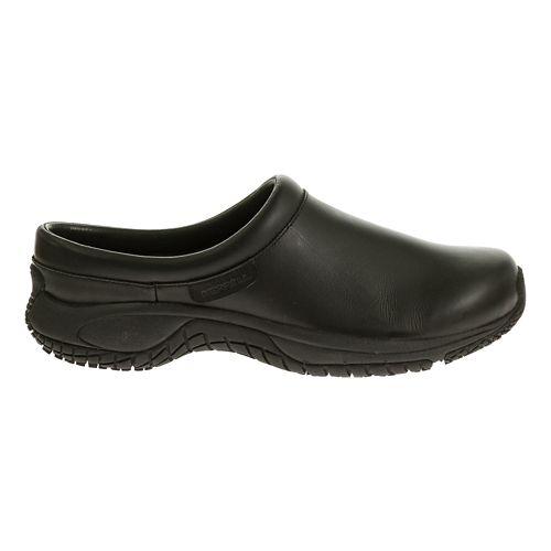 Mens Merrell Encore Slide Pro Grip Casual Shoe - Black 7.5