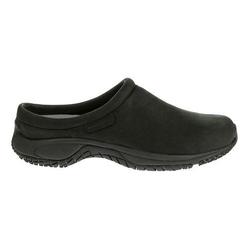 Mens Merrell Encore Slide Pro Grip Nubuck Casual Shoe - Black Nubuck 8