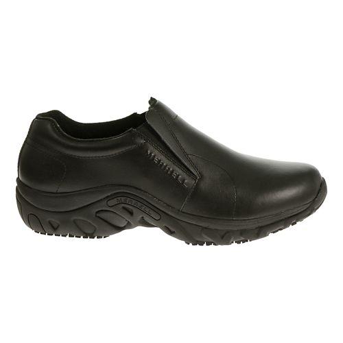 Mens Merrell Jungle Moc Pro Grip Casual Shoe - Black 8.5
