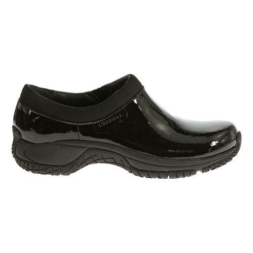Womens Merrell Encore Moc Pro Shine Casual Shoe - Black Patent 8