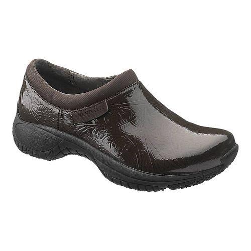 Womens Merrell Encore Moc Pro Lab Casual Shoe - Brown 7.5