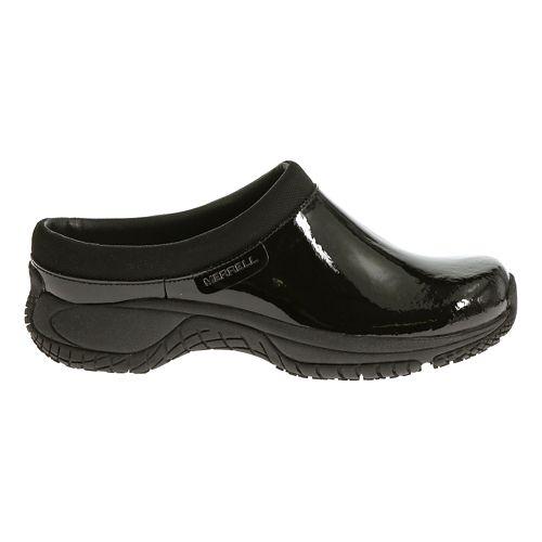 Womens Merrell Encore Slide Pro Shine Casual Shoe - Black Patent 5.5