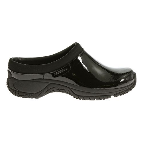 Womens Merrell Encore Slide Pro Shine Casual Shoe - Black Patent 6