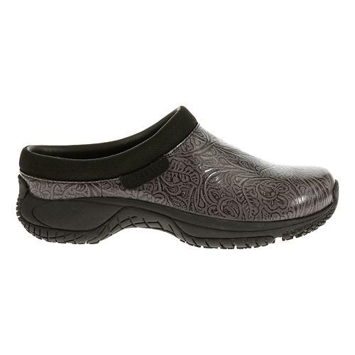Womens Merrell Encore Slide Pro Lab Casual Shoe - Charcoal 6