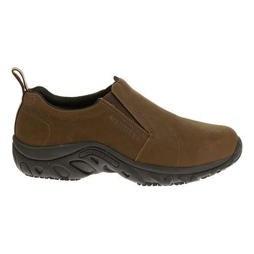 Womens Merrell Jungle Moc Pro Studio Casual Shoe - Brown Nubuck 8.5