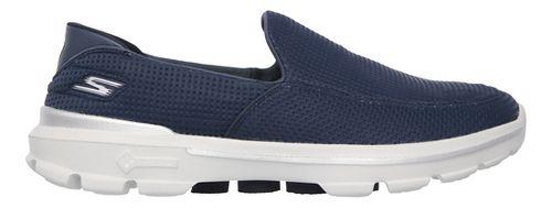 Mens Skechers GO Walk 3 Unfold Casual Shoe - Navy 10.5