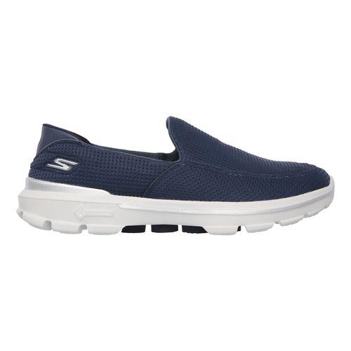 Mens Skechers GO Walk 3 Unfold Casual Shoe - Navy 12