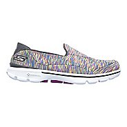 Womens Skechers GO Walk 3 Crazed Casual Shoe