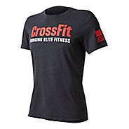 Mens Reebok CrossFit FEF Tee Short Sleeve Technical Tops