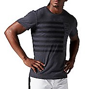 Mens Reebok CrossFit Stars & Stripes Tee Short Sleeve Technical Tops