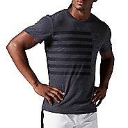 Mens Reebok CrossFit Stars & Stripes Tee Short Sleeve Technical Tops