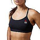 Womens Reebok CrossFit Skinny Solid Sports Bra