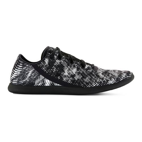 Womens Under Armour StudioLux Low Pixel Cross Training Shoe - White/Black 11
