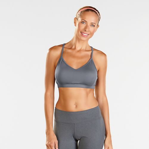 Womens R-Gear Back to Basics Cami Bra Sports Bra - Heather Grey Mist L