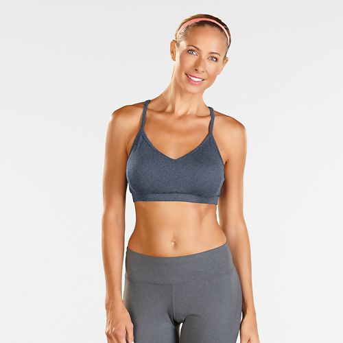 Womens R-Gear Back to Basics Cami Bra Sports Bra - Heather Storm Blue L