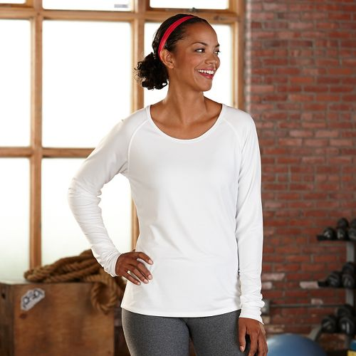 Womens R-Gear Back to Basics UPF Base Layer Long Sleeve Technical Tops - White M
