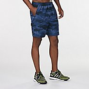 "Mens Road Runner Sports Out of Sight Camo 2-in-1 7"" Compression & Fitted Shorts"