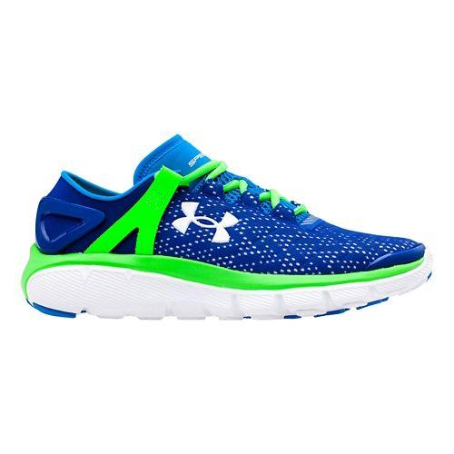 Kids Under Armour BGS Speedform Fortis Running Shoe - Cobalt/Poison 7Y