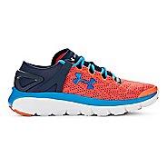 Kids Under Armour BGS Speedform Fortis Running Shoe - Orange/Academy 3.5Y