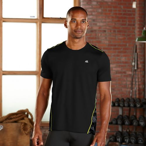 Mens R-Gear Out of Sight Short Sleeve Technical Tops - Black S