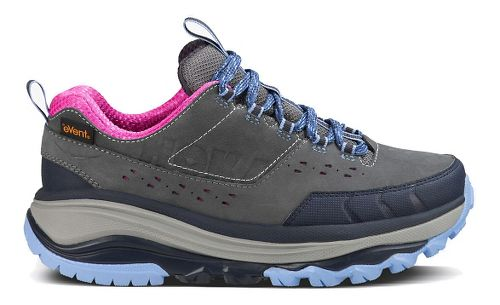 Womens Hoka One One TOR Summit WP Hiking Shoe - Steel Grey/Hydrangea 6