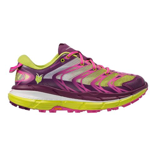 Womens Hoka One One Speedgoat Running Shoe - Plum/Fuchsia 5