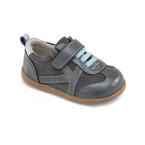 Kids See Kai Run A.J. Casual Shoe - Grey 4