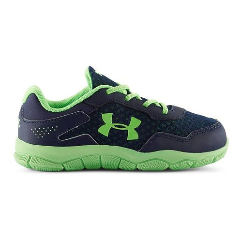 Under Armour Boys Engage II BL Running Shoe - Academy/Poison 5C