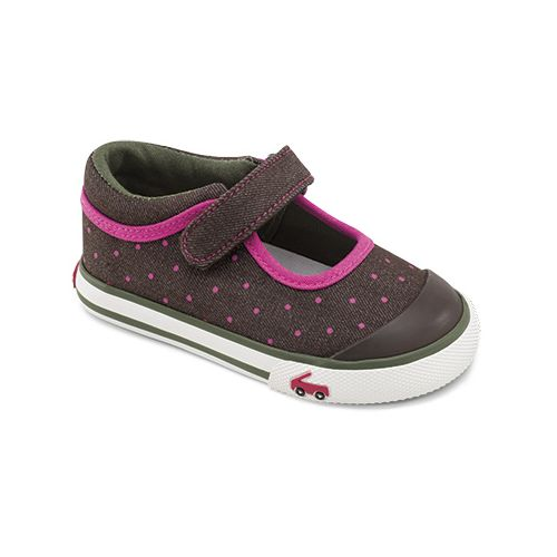Kids See Kai Run Angela Casual Shoe - Brown 7