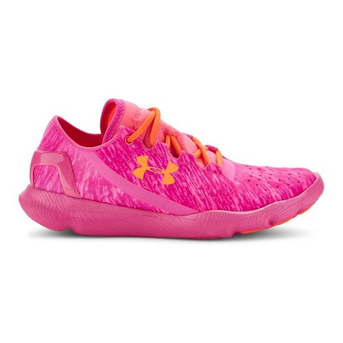 Kids Under Armour Apollo Twst Running Shoe - Pink Punk/After Burn 7Y
