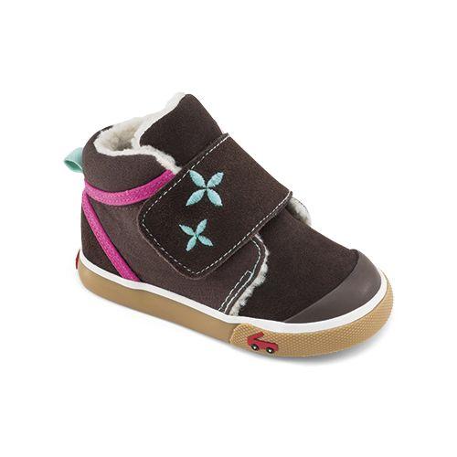 Kids See Kai Run Kiki Casual Shoe - Brown 8