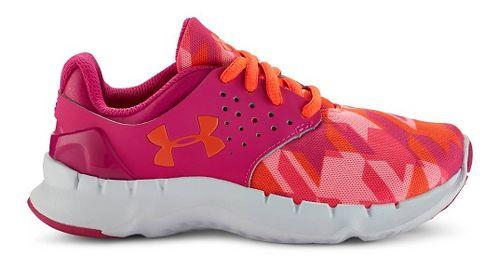 Kids Under Armour Flow RN GR Running Shoe - Pink/After Burn 12C