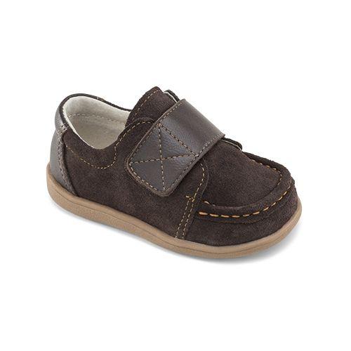 See Kai Run Boys Walter Casual Shoe - Brown 4C