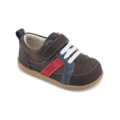 Kids See Kai Run Darius Casual Shoe - Brown 7