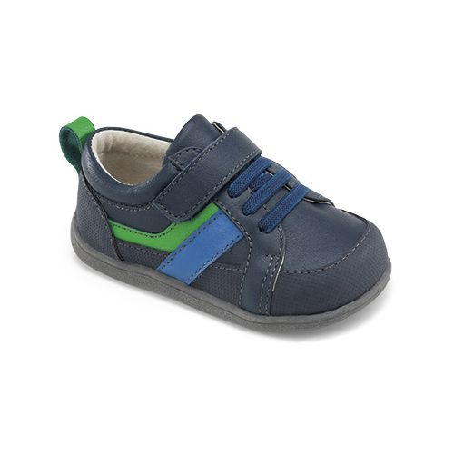 Kids See Kai Run Darius Casual Shoe - Navy 4