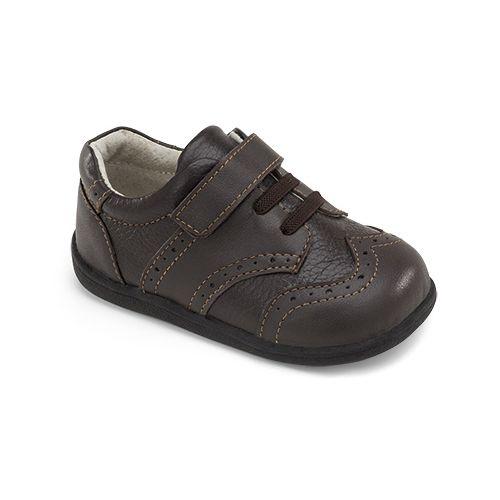 Kids See Kai Run Bennett Casual Shoe - Brown 4