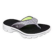 Womens Skechers GO Walk Pizazz Sandals Shoe