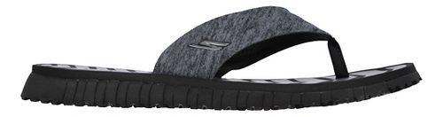 Womens Skechers GO Flex Vitality Sandals Shoe - Black 8
