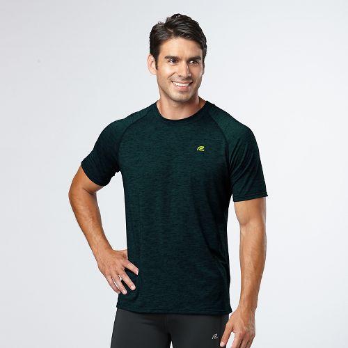 Mens Road Runner Sports Training Day Short Sleeve Technical Tops - Deep Teal XXL