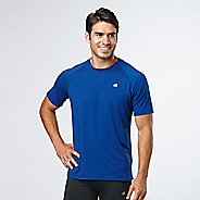 Mens R-Gear Training Day Short Sleeve Technical Tops - Cobalt M