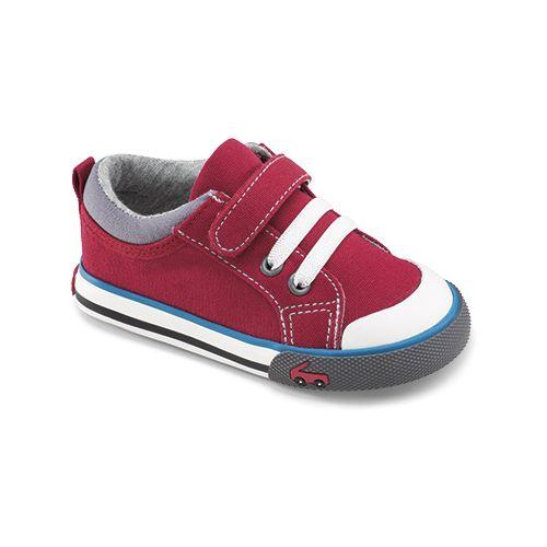 Kids See Kai Run Stevie Casual Shoe - Red 6