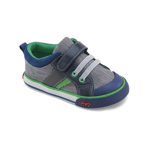 See Kai Run Boys Sammi Casual Shoe - Grey 4C