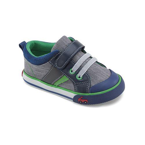 Kids See Kai Run Sammi Casual Shoe - Grey 8C