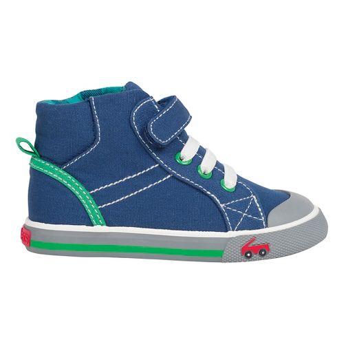 Kids See Kai Run Dane Casual Shoe - Navy 5.5C