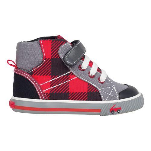See Kai Run Boys Dane Casual Shoe - Red 6C
