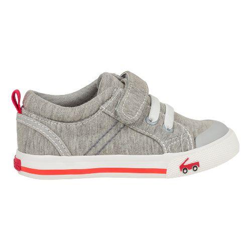 Kids See Kai Run Tanner Casual Shoe - Grey 8C