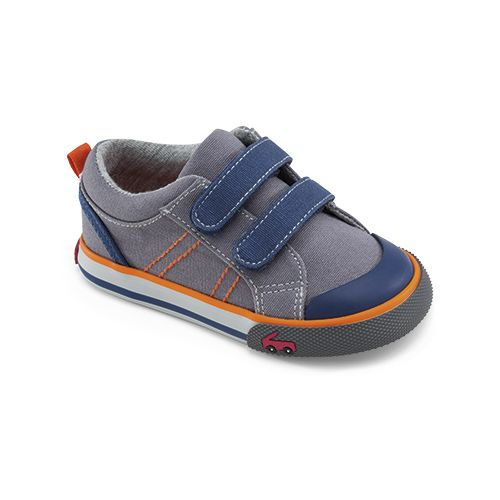 Kids See Kai Run Aiden Casual Shoe - Grey 6