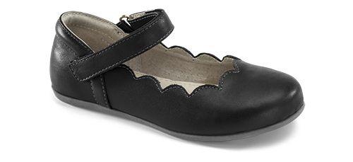 Kids See Kai Run Savannah Casual Shoe - Black 12.5C