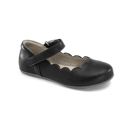 Kids See Kai Run Savannah Casual Shoe - Black 2.5Y