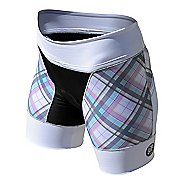 Womens De Soto Riviera Tri Unlined Shorts - Malibu Plaid S